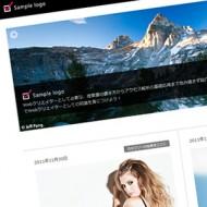 HTML5+CSS3で作った無料ブログ用テンプレート【SimpleBlack】のイメージ